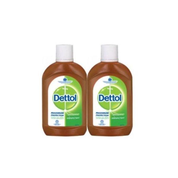 Dettol Antiseptics Liquid 500ml – 2pcs 1