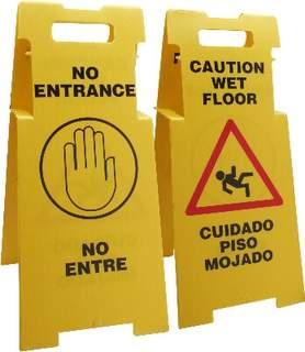 Caution Sign ( Wet Floor) 1