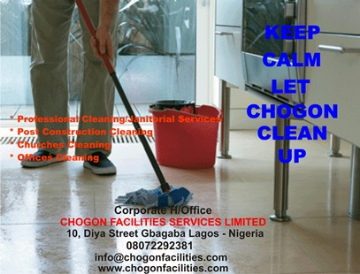 Keep Calm Let Chogon Clean Up